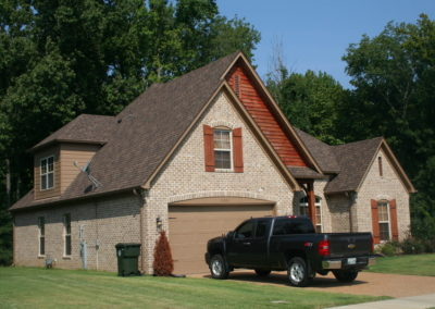 Aged Cedar GAF Shingle roof