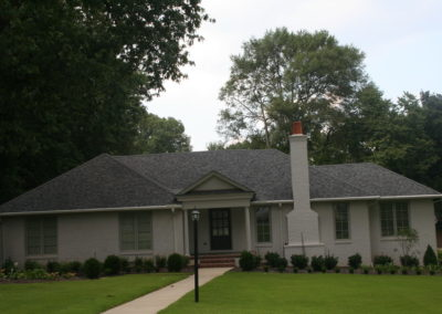 Pewtergray GAF Shingle roof