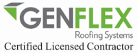 Genflex certified roofer